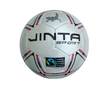 Soccer - Futsal Size 4. 'Not only incredibly beautiful to look at (ok, we are biased) but equally as beautiful to play. Match quality ball. * Certified Fairtrade * Low bounce ball specifically designed for Futsal.' #soccer #football #fairtrade #futsal #ballsforgood