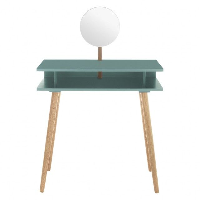 CATO Sage green dressing table with mirror | Buy now at Habitat UK