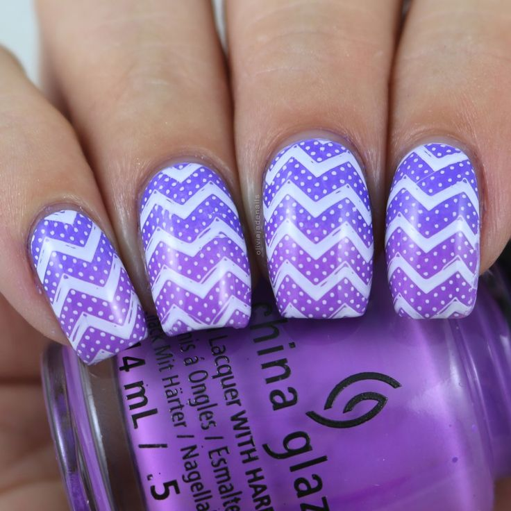 Uberchic Beauty Got Chevron 02 Stamping Plate - Swatches & Review by Olivia Jade Nails