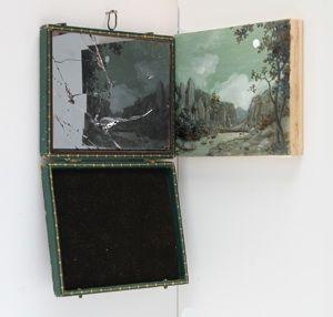 """""""Broken Claude Glass"""" (2008), Ellen Harvey. Photo by Jan Baracz."""