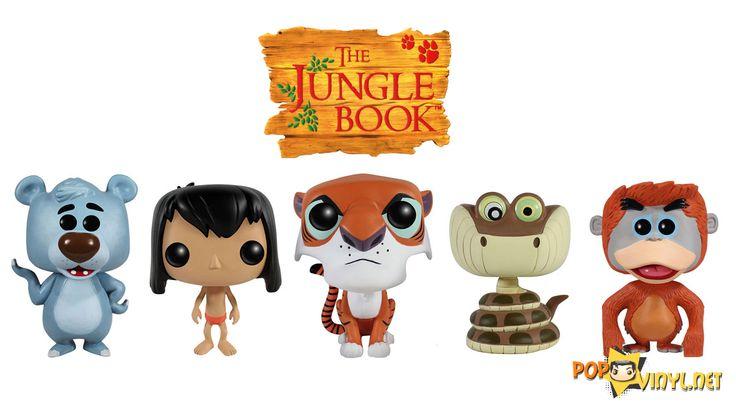 Jungle Book POP Vinyls Incoming - Visit http://popvinyl.net/pop-vinyl-news/jungle-book-pop-vinyls/ for more information