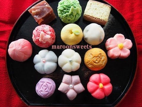 How to make Wagashi(Japanese confections) 『Sweets Deco』 - YouTube