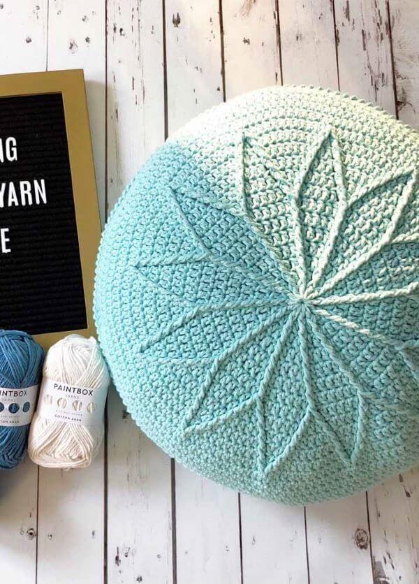 Puff De Croche Como Fazer 54 Modelos E Capas De Croche Lindas