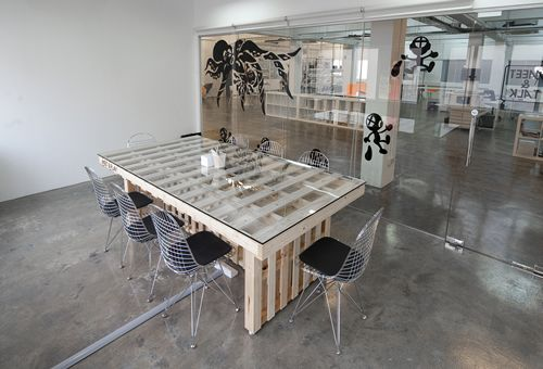 best 25 conference table ideas on pinterest conference Wood Table with Iron Base Metal Top Dining Room Table