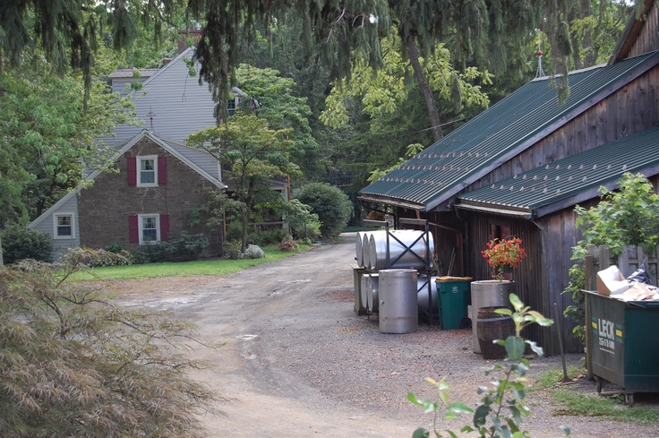 Newtown >> View of the farm house and tasting room at Rose Bank Winery - Newtown, PA   Pennsylvania ...