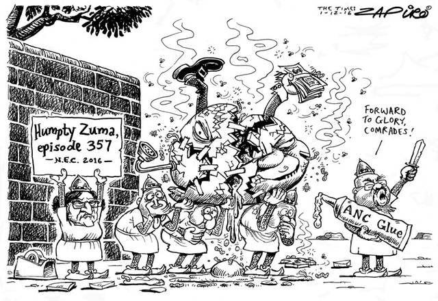 ANC putting Zuma together again