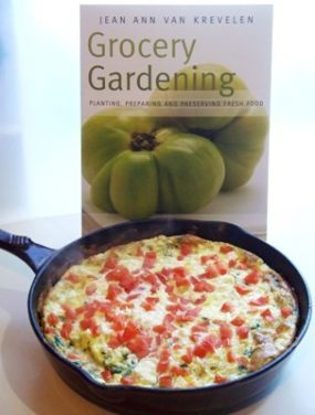 ... Gardening, features garden-fresh spinach, tomatoes, garlic and tangy f