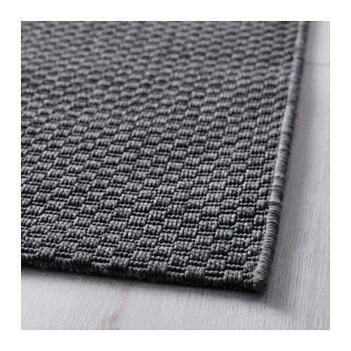 """$30  2'7"""" x 6'7"""" ` MORUM Rug, flatwoven - indoor/outdoor dark gray, 2 ' 7 """"x6 ' 7 """" - IKEA"""