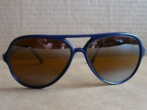 Vintage RARE  SUNCLOUD SCR Aviator  Double Bridge Sunglasses Navy Blue MIRROR - $49.95 - http://www.12pmsunglasses.com/on-sale/Vintage-Suncloud-Sunglasses-Scr.html