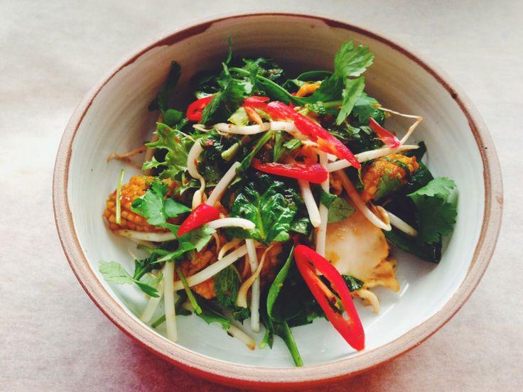 Calamari Salad  GourmetGirlfriend: Dame Elisabeth Murdoch & Cruden Farm