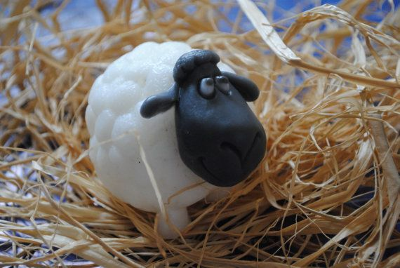 Crazy sheep soap-party favor funny soap gift soap by NerdySoap