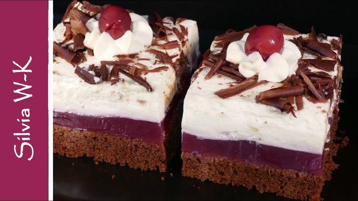 Schokokuchen Schwarzwalder Art Ohne Gelatine Youtube Schokokuchen Kuchen Und Torten Rezepte Schokoladen Kuchen