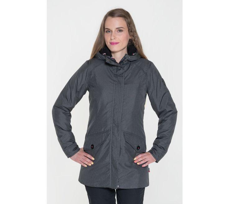Dámsky kabát s kapucňou Sam 73 | modino.sk #modino_sk #modino_style #style #fashion #lookbook
