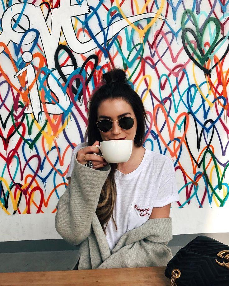 Running latte #always
