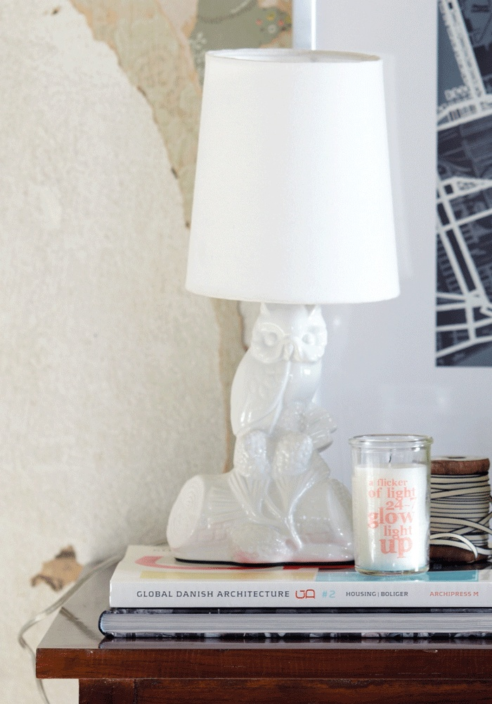 Ceramic Owl Lamp by House Doctor DK from www.bodieandfou.com