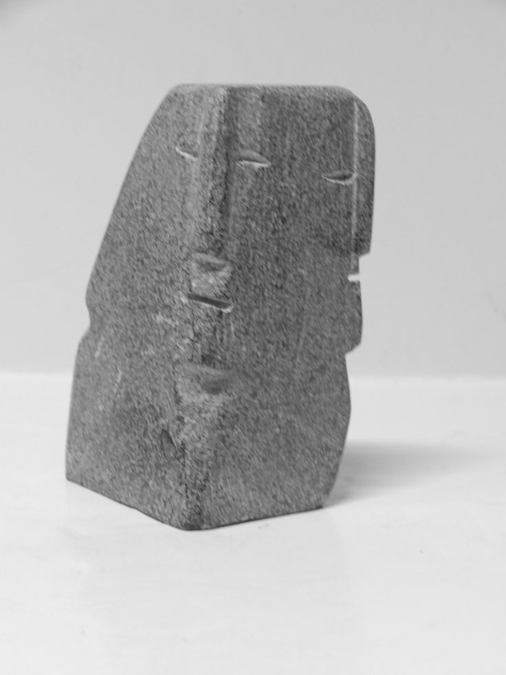 A personal favorite from my Etsy shop https://www.etsy.com/ca/listing/506704561/inuit-eskimo-art-carving-soapstone-faces