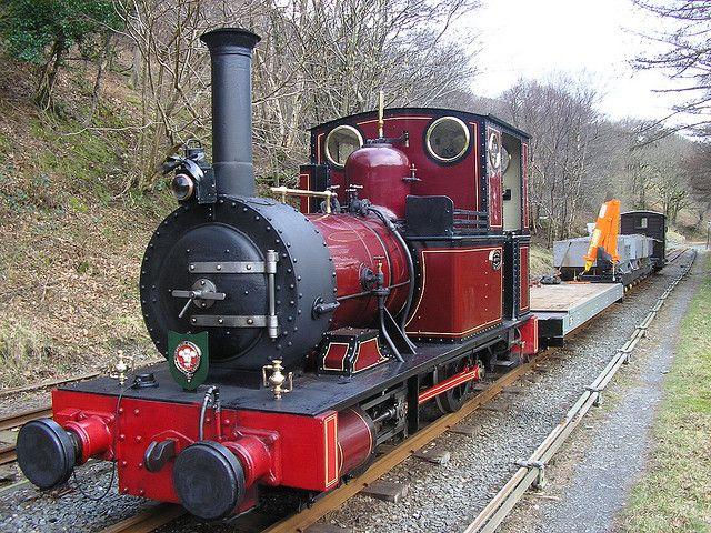 No2 and engineering train at Quarry Siding (Talyllyn Narrow Gauge Railway) | Flickr