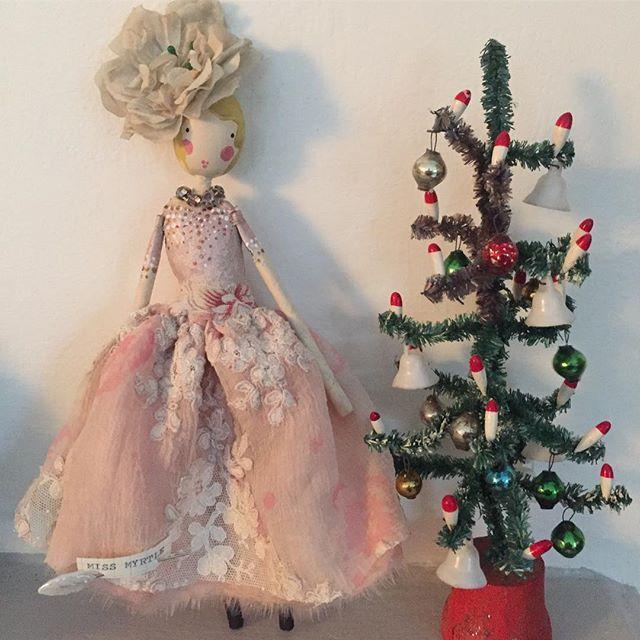 ⭐️SOLD  Miss Myrtle #themagpieandthewardrobe #magpieandthewardrobe #sammckechniedolls #christmasfairy