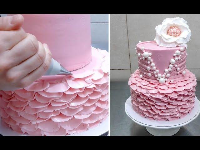Buttercream cake decorating tutorial. Cake decorating for beginners.. How, Decor, Cake,