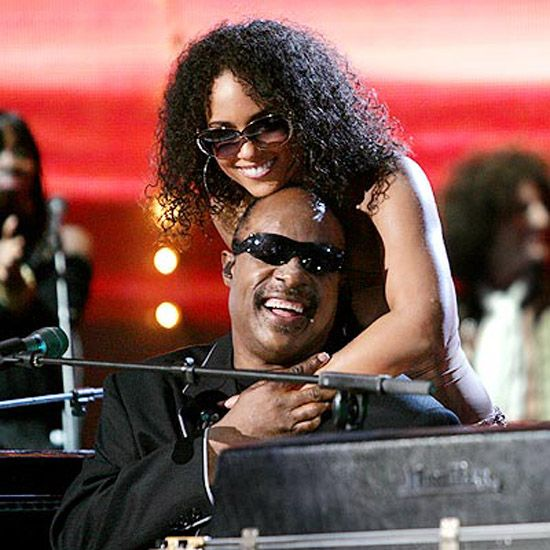 Alicia Keys & Stevie Wonder