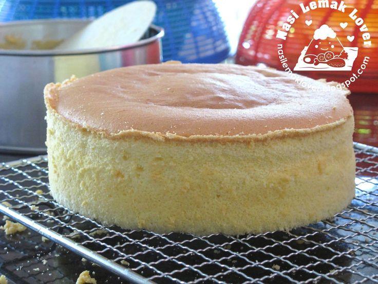 Nasi Lemak Lover: Basic Plain Sponge Cake