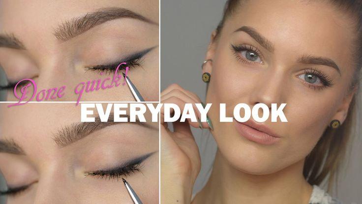 Done Quick – Everyday Look - Linda Hallberg makeup tutorials