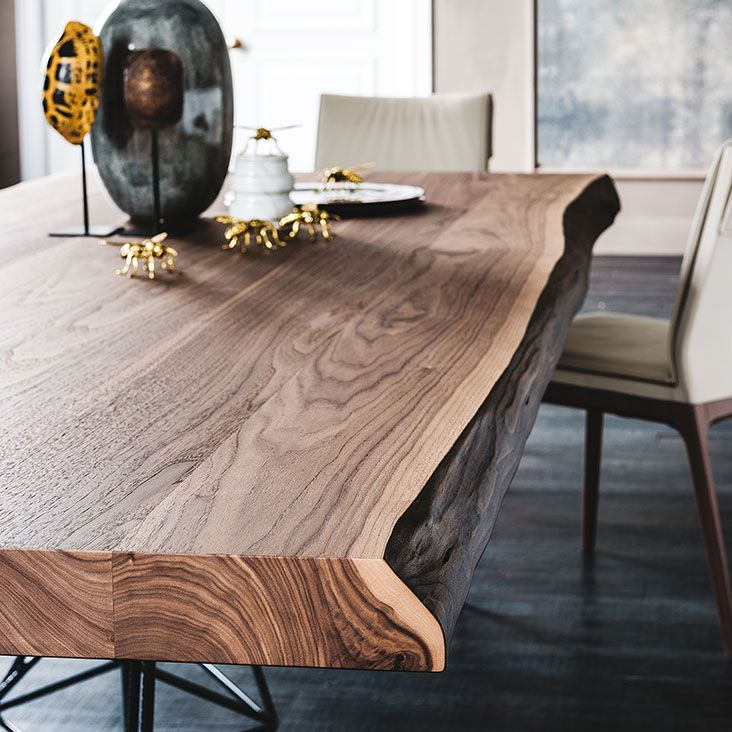 Cattelan Italia Gordon Deep Wood table by Giorgio Cattelan