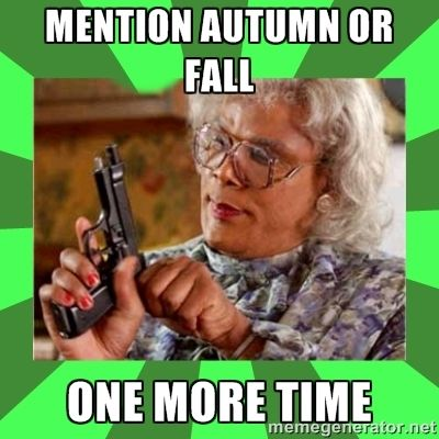 autumn vs fall meme - Szukaj w Google