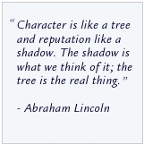 Quote from Abe Lincoln