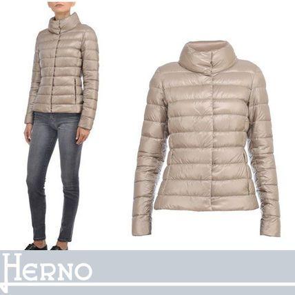 HERNO ダウンジャケット・コート HERNO スリムフィットで女性らしい美シルエット ライトベージュ