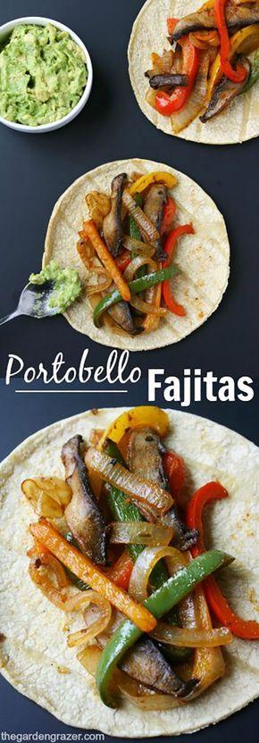 Portobello Fajitas