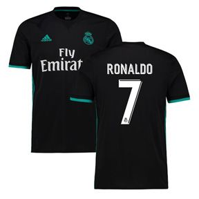 adidas Youth Real Madrid Cristiano Ronaldo #7 Jersey (Away 17/18): http://www.soccerevolution.com/store/products/ADI_41002_A.php