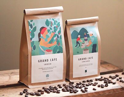 UCC-coffee Grand Cafe redesign