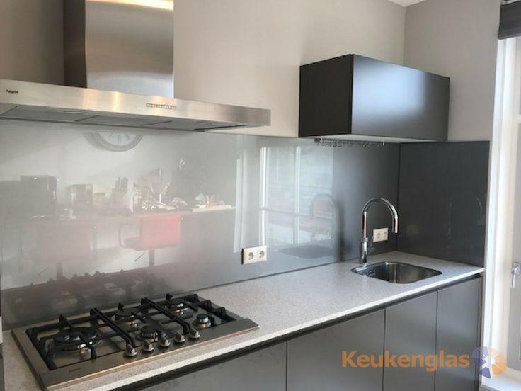 52 best Metallic glazen achterwand (RVS Look) - Metallic - wandpaneel küche glas