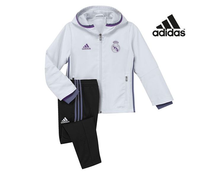 Chandal del la temporada Real Madrid 2017 para niños por 58,47 €.
