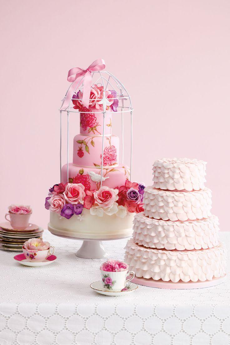 383 best cakes images on Pinterest | Cake wedding, Decorating cakes ...