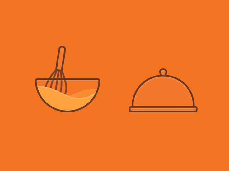 Dribbble - GIF Cooking icons by Olga Mihailenko