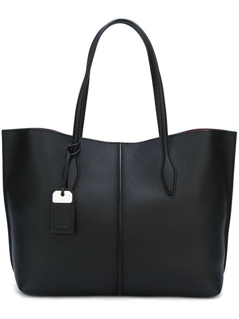 TOD'S Shopper Tote. #tods #bags #leather #hand bags #tote #