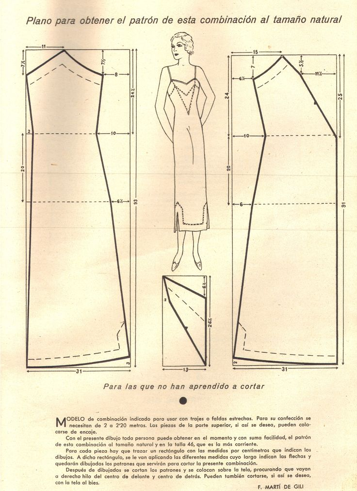 slip pattern 1930s