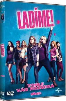 "Film na dvd ""Ladíme"" Pitch Perfect dvd"