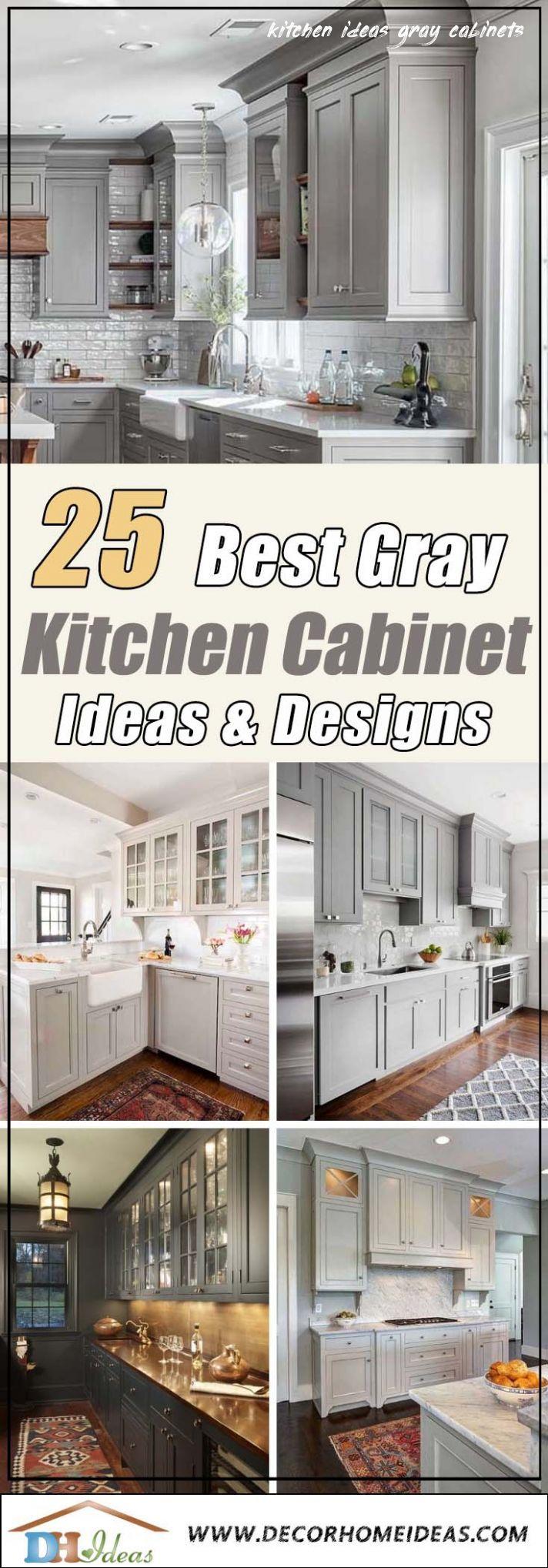 7 Kitchen Ideas Gray Cabinets In 2020 Grey Kitchen Cabinets Grey Kitchen Kitchen Cabinet Design