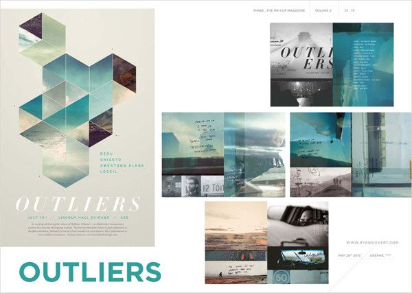 THREE eBooks . the Graphic Exchange magazine by Barral Fabien, via Behance