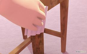 Remover mofo de madeira
