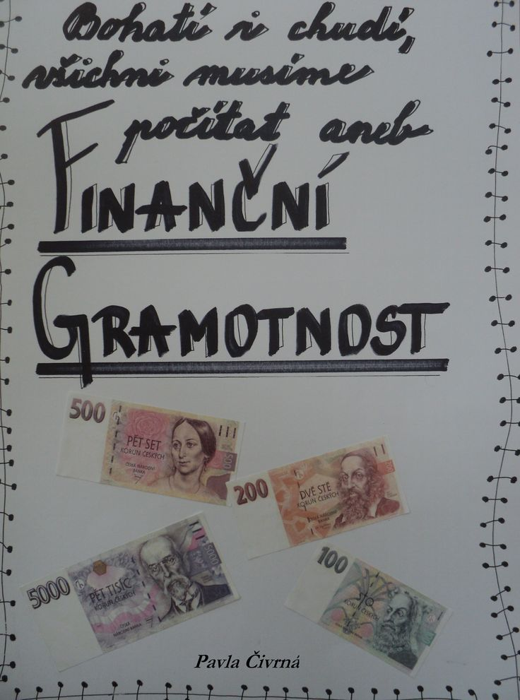 Finanční gramotnost - titulka