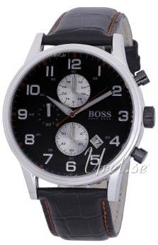 Hugo Boss Contemporary Sport Musta/Nahka