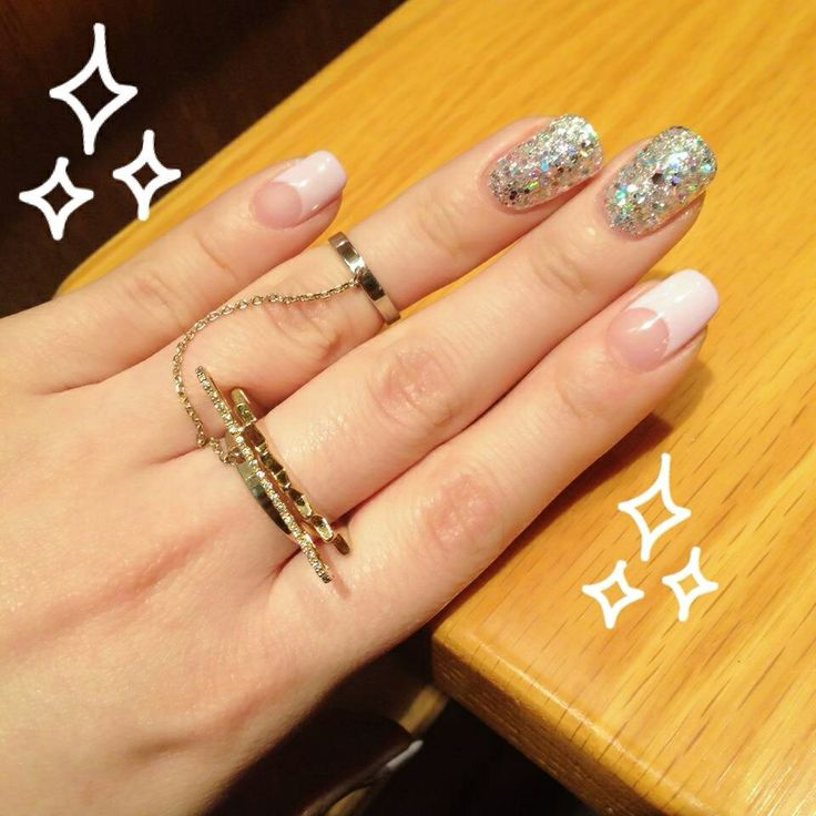 Deep french nail