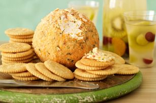 Mexican-Style Party Cheese Ball - I love pepperjack, but never used it in a cheese ball.  Must try!