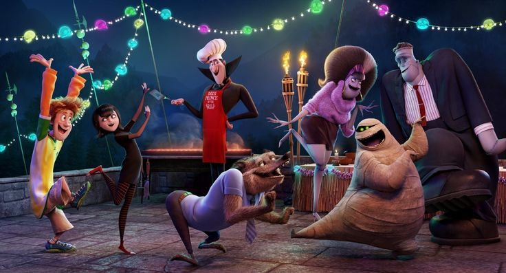 First look images from the animated comedy sequel Hotel Transylvania 2, starring Adam Sandler, Selena Gomez and Andy Samberg