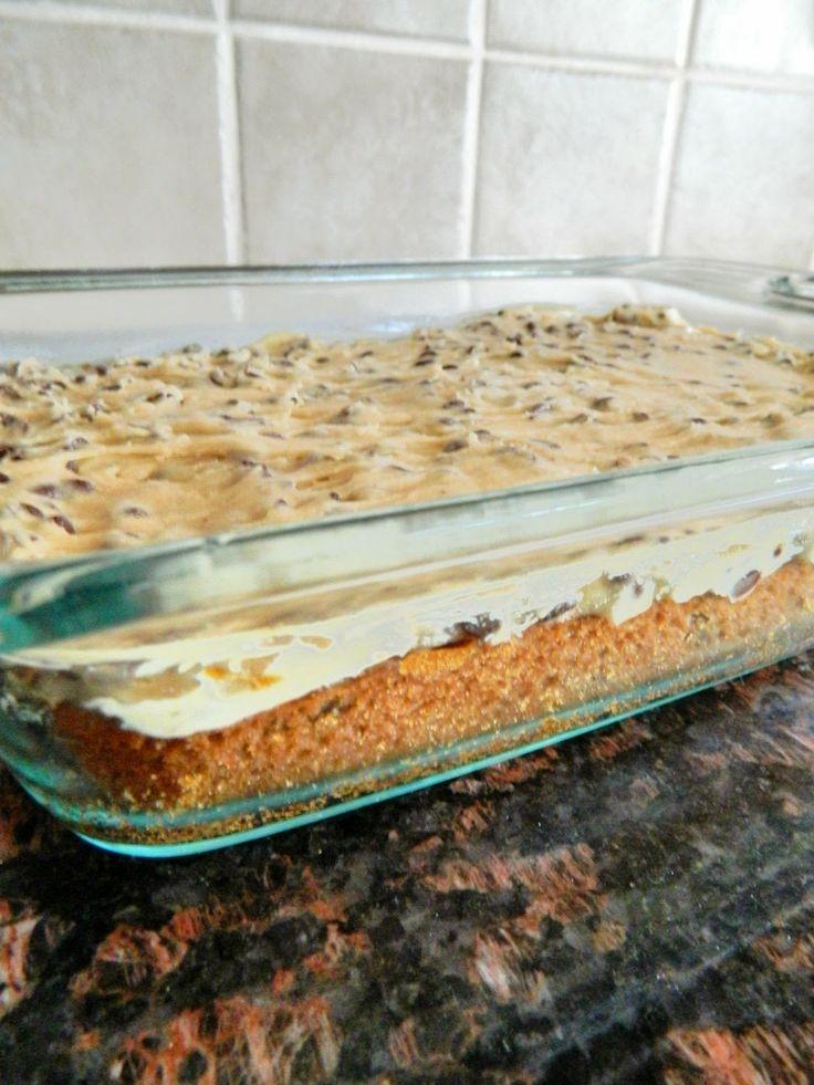 Louella Reese Recipe: Chocolate Chip Cookie Dough Bars aka Heaven