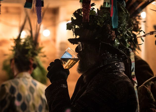What Is Wassailing? Here's Why You Might Spot People Pouring Cider On Trees This January